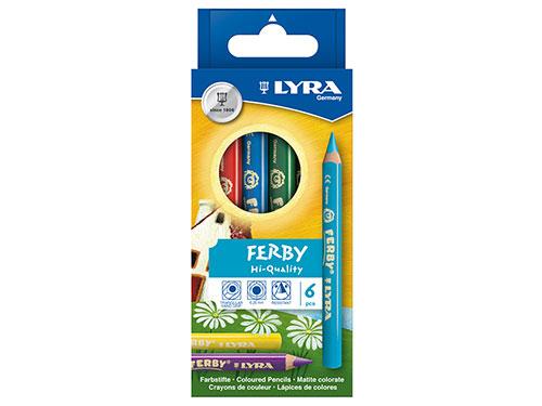 色鉛筆 ファルビー 6色セット/LYRA