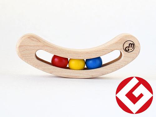 木製ラトル fava(ファーバ)/カラー