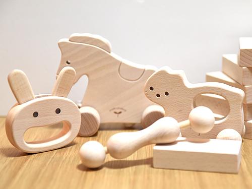 木のおもちゃ ベビーセット
