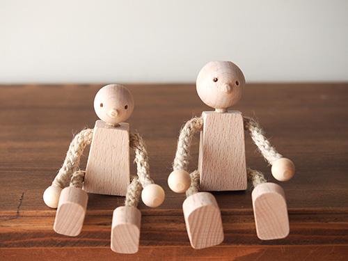 ドールハウス用人形/木遊舎