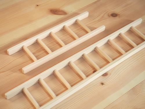 ドールハウス用はしごセット/木遊舎