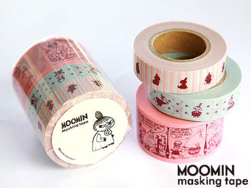 ムーミンマスキングテープセット / リトルミイ
