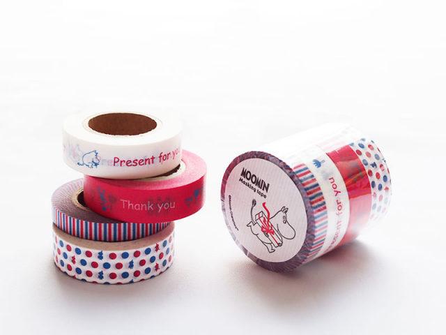 ムーミンマスキング テープセット / プレゼント