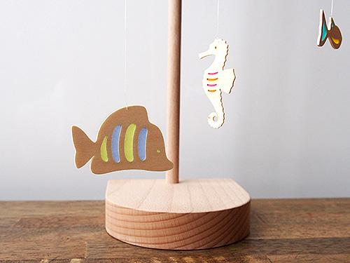 卓上モビール 宙を泳ぐ魚
