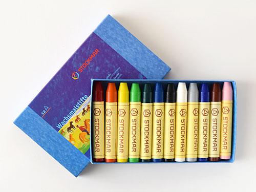 シュトックマー スティッククレヨン 12色紙箱