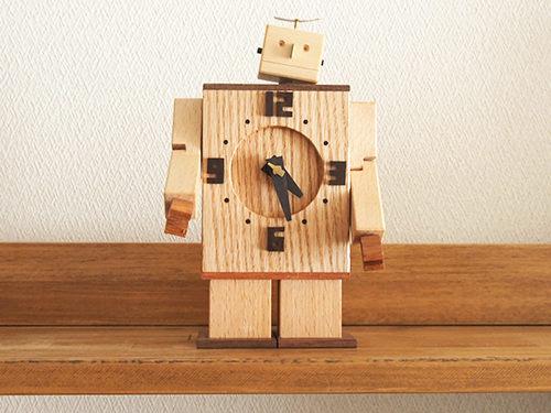 Robo Clock(ナラ1号)/WooD ToP