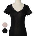 半袖,Tシャツ,シルクインナー,絹インナー,冷えとり,冷えとり靴下,防寒,冷えとりコーデ,冷えとりファッション,通販