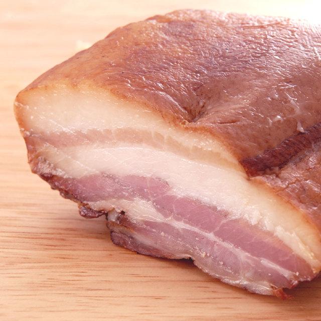 鹿児島黒豚短鼻豚ベーコン