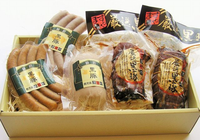 JR東海 新幹線グリーン車 車内誌「ひととき」掲載記念~鹿児島『黒豚』『無添加』満載お得な特別セット C~ご自宅用・贈り物にいかがですか?