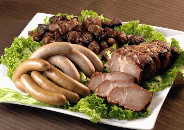 焼豚とウインナーの詰合せイメージ