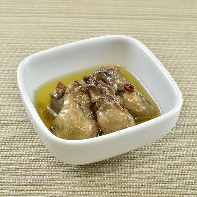 かきのアーリオオーリオ(皿)