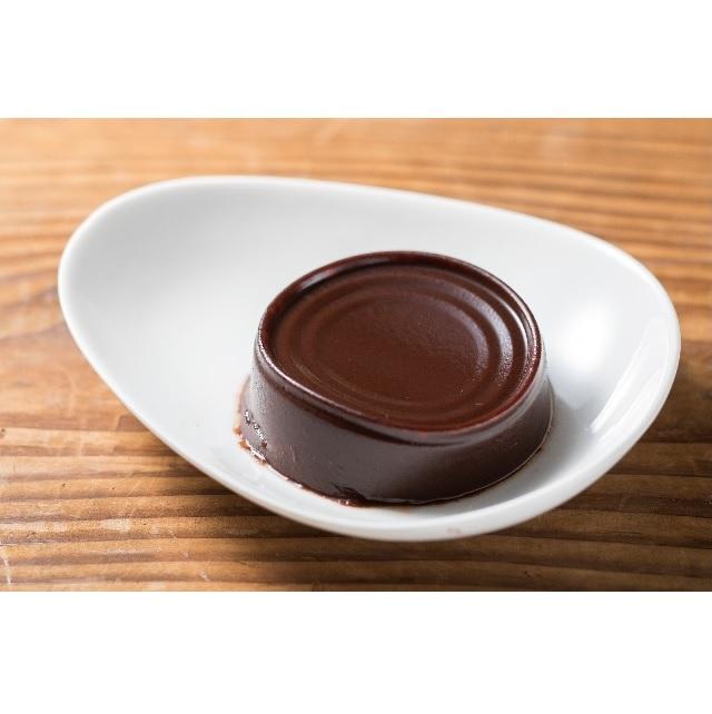 黒糖の濃厚和ショコラ_皿盛