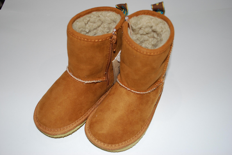 ~SALE~ PONY GO ROUND  SHEEP SKIN TYPE BOOTS キャメル(17センチ)