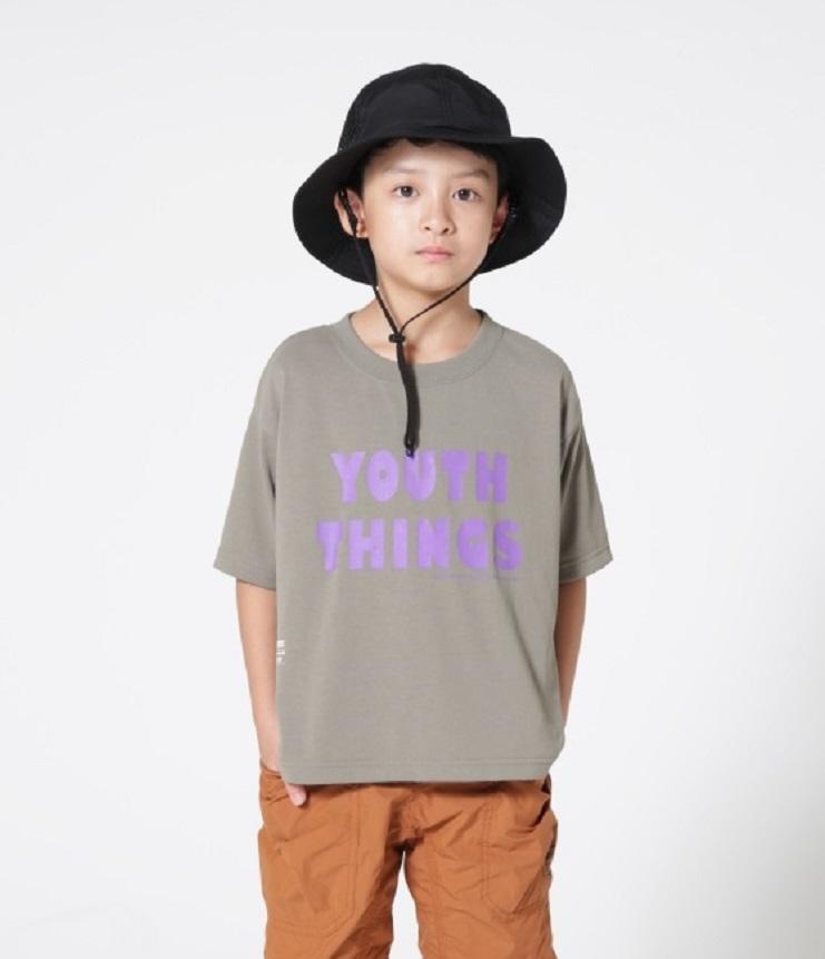highking youth short sleeve ユース半袖Tee カーキ(100~160センチ)