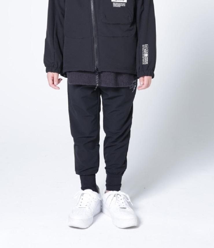 2021AW highking  arts pants アーツパンツ ブラック(130~160センチ)