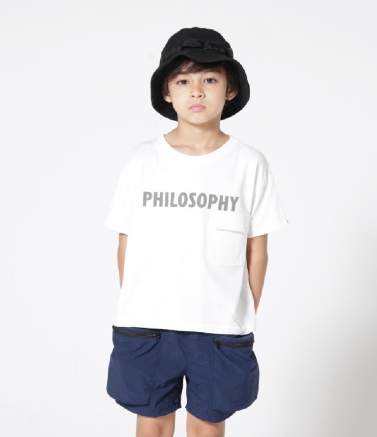highking philosophy short sleeve フィロソフィー半袖Tee ホワイト(Mens)