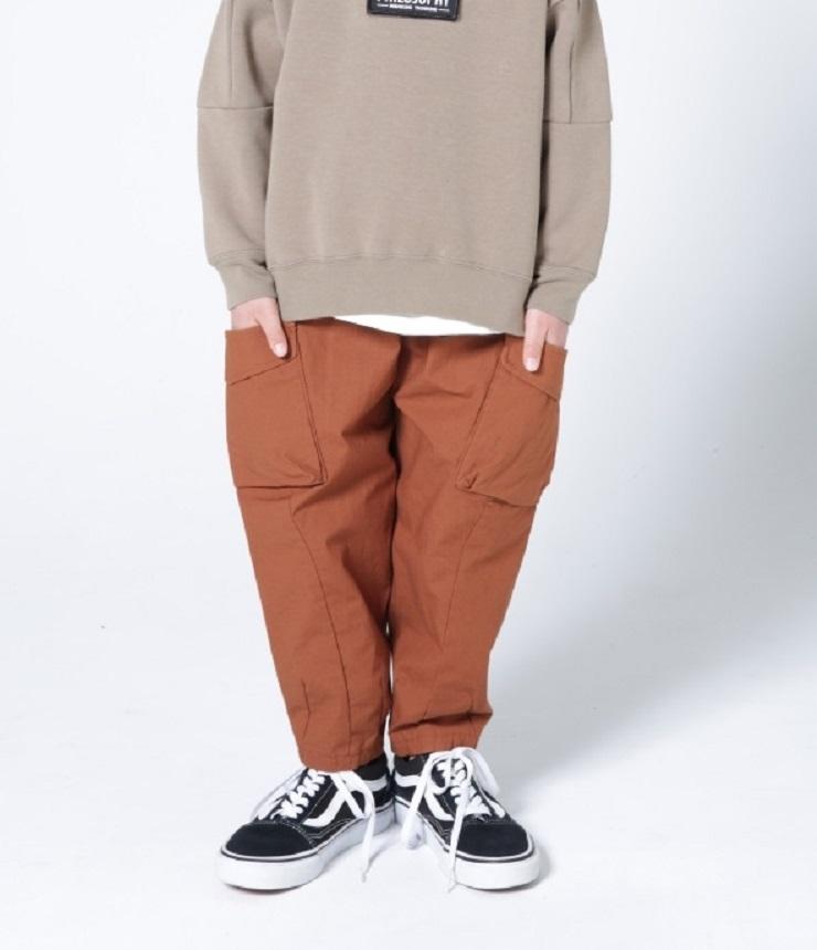 highking  fatigue pants ファティーグパンツ ブラウン(140~160センチ)