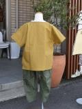 〜SALE〜 honey two コンビ肌着型カバーオール グレーボーダー(60〜70センチ)