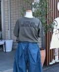 ~SALE~ NEEDLE WORKS  CLEVELANDドロップTシャツ カーキ(130ンチ)