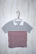 〜SALE〜 BNT ラガーシャツ エンジ(130センチ)