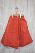 〜SALE〜 Mein Heim  6分丈テールカットスカート ピンク(100〜120、140センチ)
