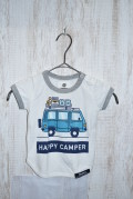 〜SALE〜 highking happy camper short sleeve  ホワイト(80〜100センチ)