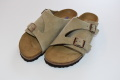 BIRKENSTOCK ZURICH(チューリッヒ)SOFT FOOTBED  スエードレザー/TAUPE