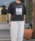 6°vocaLe モノトーンTシャツ チャコール(Lady's)
