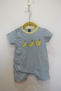 ~SALE~ munch  BANANA ROMPERS グリーン(70センチ)