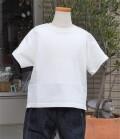 ~SALE~ FABRIQ REPORT 半袖ワイドTEE  ホワイト(100、110、140センチ)