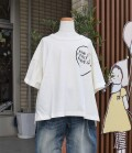 ~SALE~ NEEDLE WORKS  Big Drop Hear T-shirt  アイボリー(120、130センチ)
