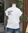 ~SALE~ NEEDLE WORKS  TODAY? T-shirt  アイボリー(100、120、130センチ)