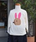 ~SALE~ nini  うさぎTシャツ オフ(100、110センチ)