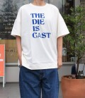 thomas magpie big t-shirt  the die is cast ビッグTシャツ(オフホワイト)