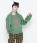 ~SALE~ thomas magpie twin knit ツインニット(グリーン)