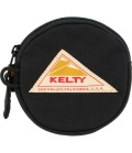 KELTY  ケルティ CIRCLE COIN CASE 2  サークル・コイン・ケース 2(ブラック)