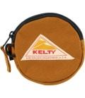 KELTY  ケルティ CIRCLE COIN CASE 2  サークル・コイン・ケース 2(キャラメル)
