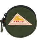 KELTY  ケルティ CIRCLE COIN CASE 2  サークル・コイン・ケース 2(オリーブ)