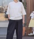 chloro sister  【定番】リコット天竺ラグランVネックTee(オフ)