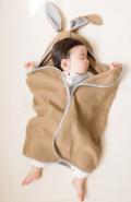 392 plus m  knit bunny blanket 綿ニットブランケット(Baby)