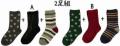 stample 3パターンクルーソックス3P(13〜24センチ)