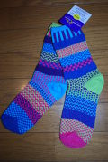 solmate socks(ソルメイトソックス) bluebell/サイズM 男女兼用