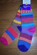 solmate socks(ソルメイトソックス) carnation/サイズM 男女兼用