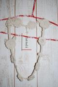 〜SALE〜 cottoli カギ針編みモチーフのネックレス