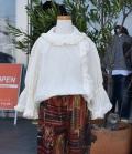 Go To Hollywood  キャッチワッシャーローン ドレスシャツ ホワイト(100~140センチ)