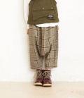 ~SALE~ NEEDLE WORKS Check Sarueru-Pants  チェックサルエルパンツ ブラウン(130、150センチ)