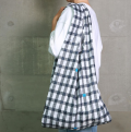 392  Eco Bag  エコバッグ L (gingham)