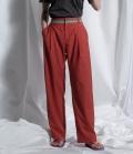 ~SALE~ thomas magpie colour belted pants カラーベルトパンツ テラコッタ