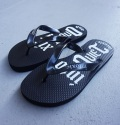 intoxic. beach sandals ビーチサンダル ブラック