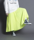 thomas magpie long pleated skirt ロングプリーツスカート(イエロー)